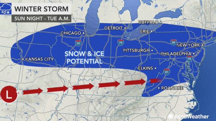 Winter Storm Could Batter Northeast Next Week