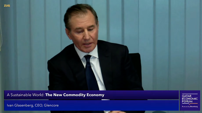 Glencore CEO Says Commodity Prices Will Stay Elevated For Longer