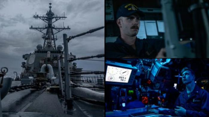 China Denounces US Navy Warship Transiting Taiwan Strait