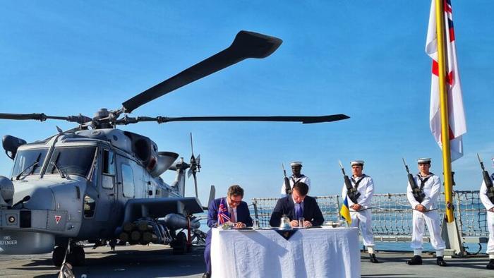 Ukraine And UK To Build Warships, Establish Naval Bases Together