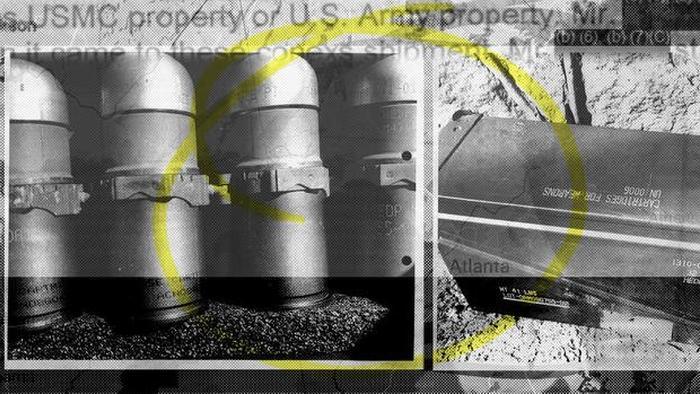 Military Investigators Baffled By Stolen Box OfArmor-Piercing Grenades