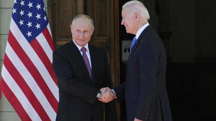 """Watch Live: Biden's Turn As US & Russian Presidents Hold Separate """"He Said, He Said"""" Press Conferences"""