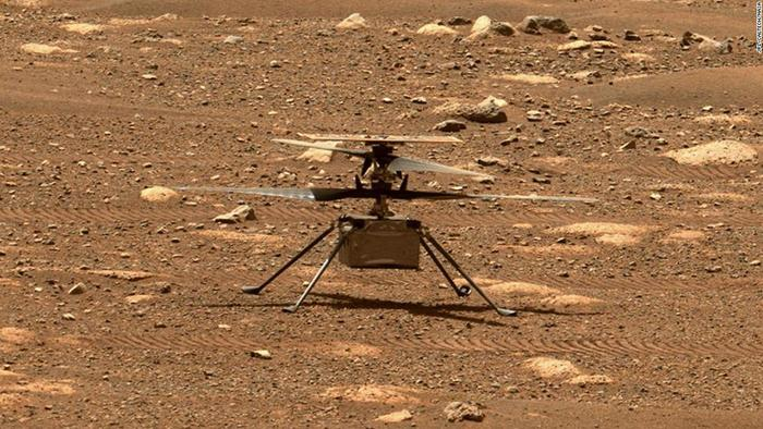 NASA's Mars Helicopter Prepares For 7th Flight On Sunday