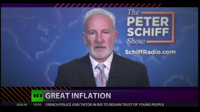 Watch: Peter Schiff's Great Inflation Debate