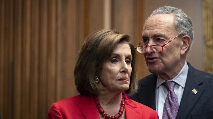 In Legislative Hail Mary, Democrats Link Debt Ceiling To Spending Bill