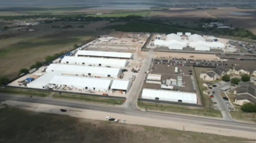Drone Images Reveal Biden's Migrant Camp In Texas Expands As Border Crisis Rages