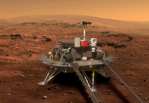 China May Attempt To Land Mars Rover Today
