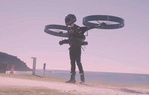 Watch: Futuristic Backpack Helicopter 'CopterPack' Takes Flight For First Time