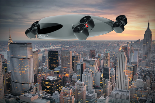 Manhattan To Hamptons In 30 Minutes On This 40 Passenger Drone Bus