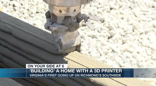 """Virginia's First 3D-Printed Home Under Construction Amid """"Hyperinflating"""" Housing Market 2"""