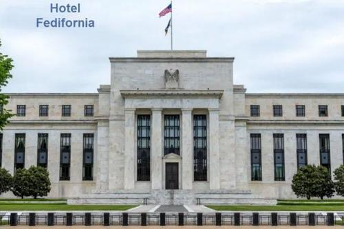 Welcome To The Central Bank Hotel, Once Inside You Can Never Leave