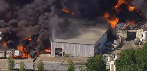 Illinois Gov Sends Reinforcements To Help Suppress Devastating Chemical Fire