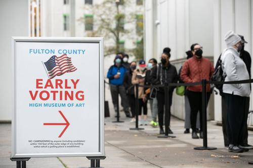 Georgia Secretary Of State Outlines 100,000 Names To Be Cut From Voter Rolls 2