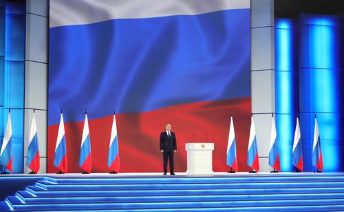 Putin addresses the Russian General Assembly