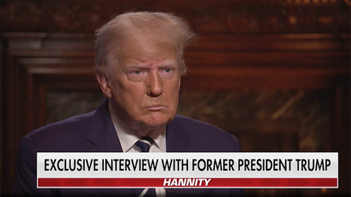 "Watch: Trump Says He's ""Beyond Serious"" About 2024 Run"