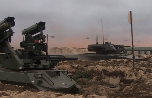Russia Releases Footage Of Armed 'Robot Tanks' In Action During Zapad-2021 Exercises [VIDEO]