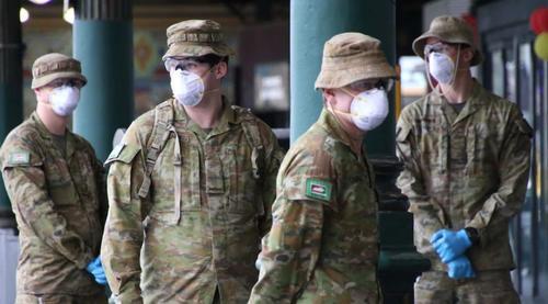 Zur Durchsetzung der Abriegelung setzt Sydney nun das Militär ein