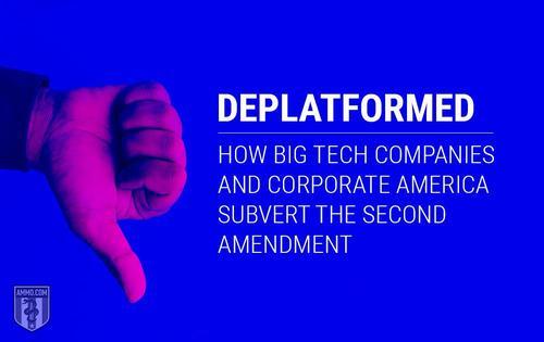Deplatforming, Big Tech, and the Second Amendment
