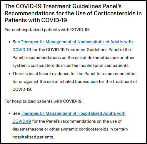 FDA Lists 'Horse Drug' As Approved COVID Treatment Dex1aa