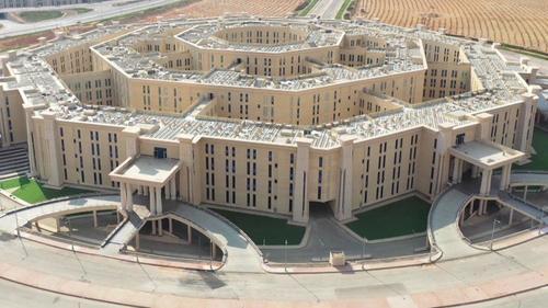Egypt Prepares To Unveil New 'Octagon'Defense Headquarters