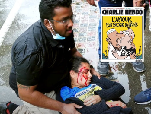 Woman Wearing Charlie Hebdo T-Shirt Stabbed At London Park In Broad Daylight