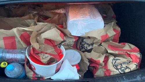 """Police Bust Gang Members With Car Trunk """"Full Of KFC"""" Takeout Breaching 'Strict Lockdown'"""
