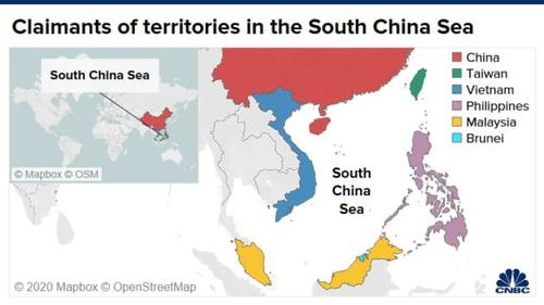 """US In """"Zero-Sum"""" Game With Beijing OverSouth China Sea, China Says"""