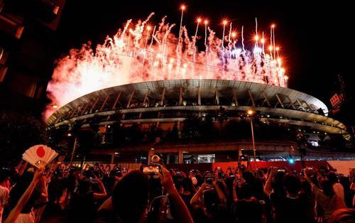 Rekordtief! Menschenleere Eröffnungszeremonie der vollmaskierten Olympischen Spiele