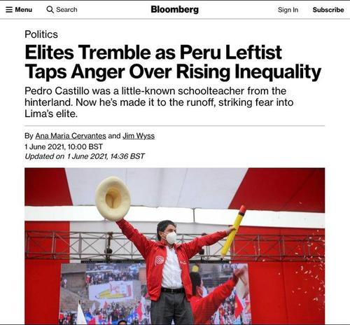 Socialist Candidate Who Vows To Nationalize Mineral Resources Pulls Ahead In Peru Presidential Election 2