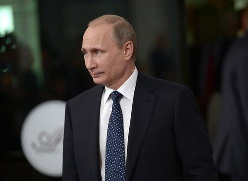 Putin smirk