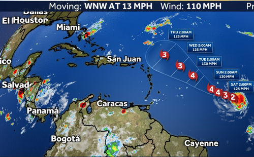 Sam To Become Major Hurricane Today