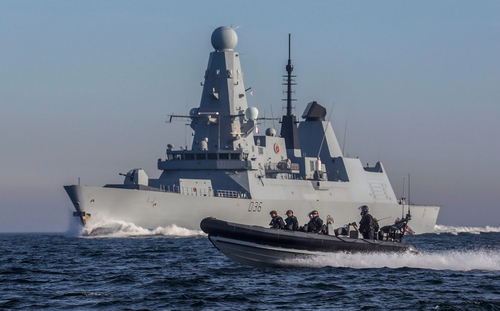 "Britain To Deploy 2 Warships To Black Sea As ""Solidarity"" With Ukraine"