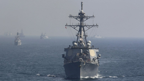 "Russia Warns US Warships To Stay Far Away From Crimea ""For Their Own Good"""