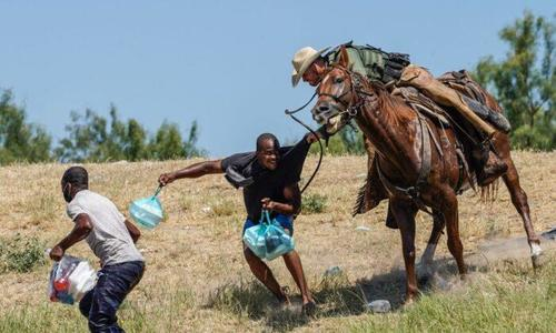 Top Border Official Blasts Psaki - Says Admin Approved 'Twirling' Reins To Keep Migrants Away From Horses
