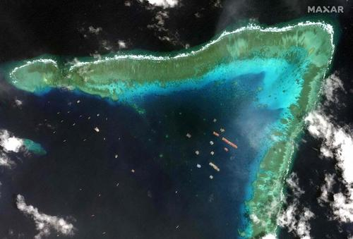 Philippines Summons Chinese Ambassador Over Reef Dispute As War Games With US Kick Off