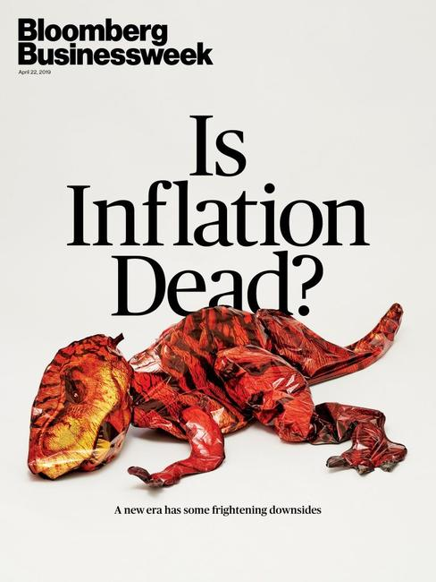 """Contrarian Alert: """"Is Inflation Dead?"""" Makes The Cover Of Businessweek"""