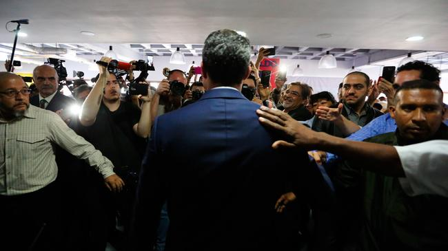 """From Golden Boy To """"Deflated"""" - The Media Trajectory Of Juan Guaido"""