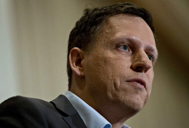 "Peter Thiel Slams ""Treasonous"" Google For Choosing China Over US Military"