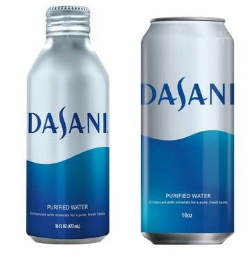 Prompted By Environmental Outrage, Coca-Cola Is Now Canning Its Dasani Water