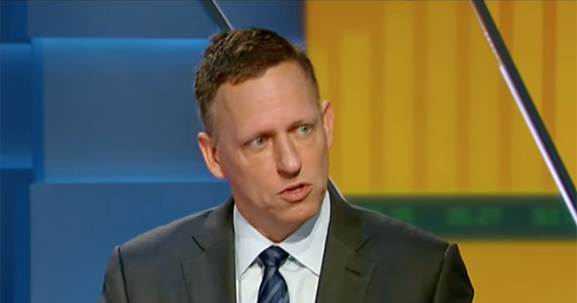 "Thiel: ""Globalist"" Google Is In Bed With Chinese Military; Must Be Investigated By FBI/CIA"