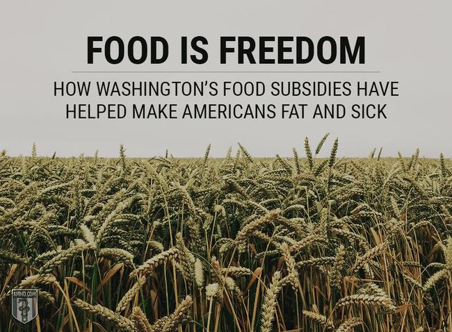 How Washington's Food Subsidies Have Helped Make Americans Fat And Sick