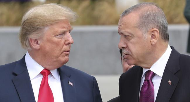 """""""Don't Be A Fool ... I Will Call You Later"""": Trump Warns Turkey's Erdogan Against 'Slaughtering Thousands'"""