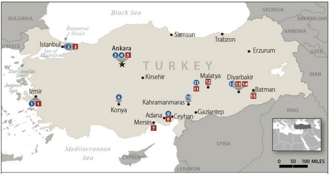 Turkey Gives NATO The Middle Finger, Threatens To Shutter Critical Military Bases Over Sanction Threats