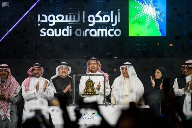 Aramco Stock Soars Limit Up In Debut After Saudis Force Locals To Buy