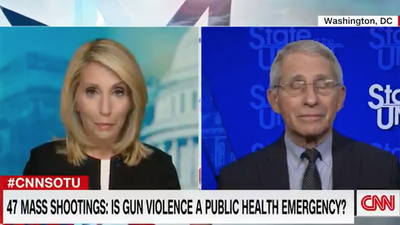 Dr. Fauci Comes Out in Favor of Gun Grabs